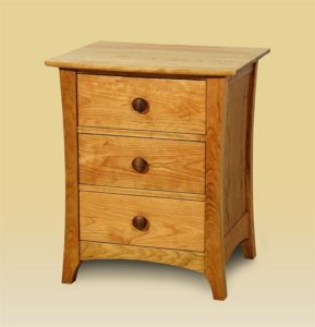 Three Drawer End Cabinet