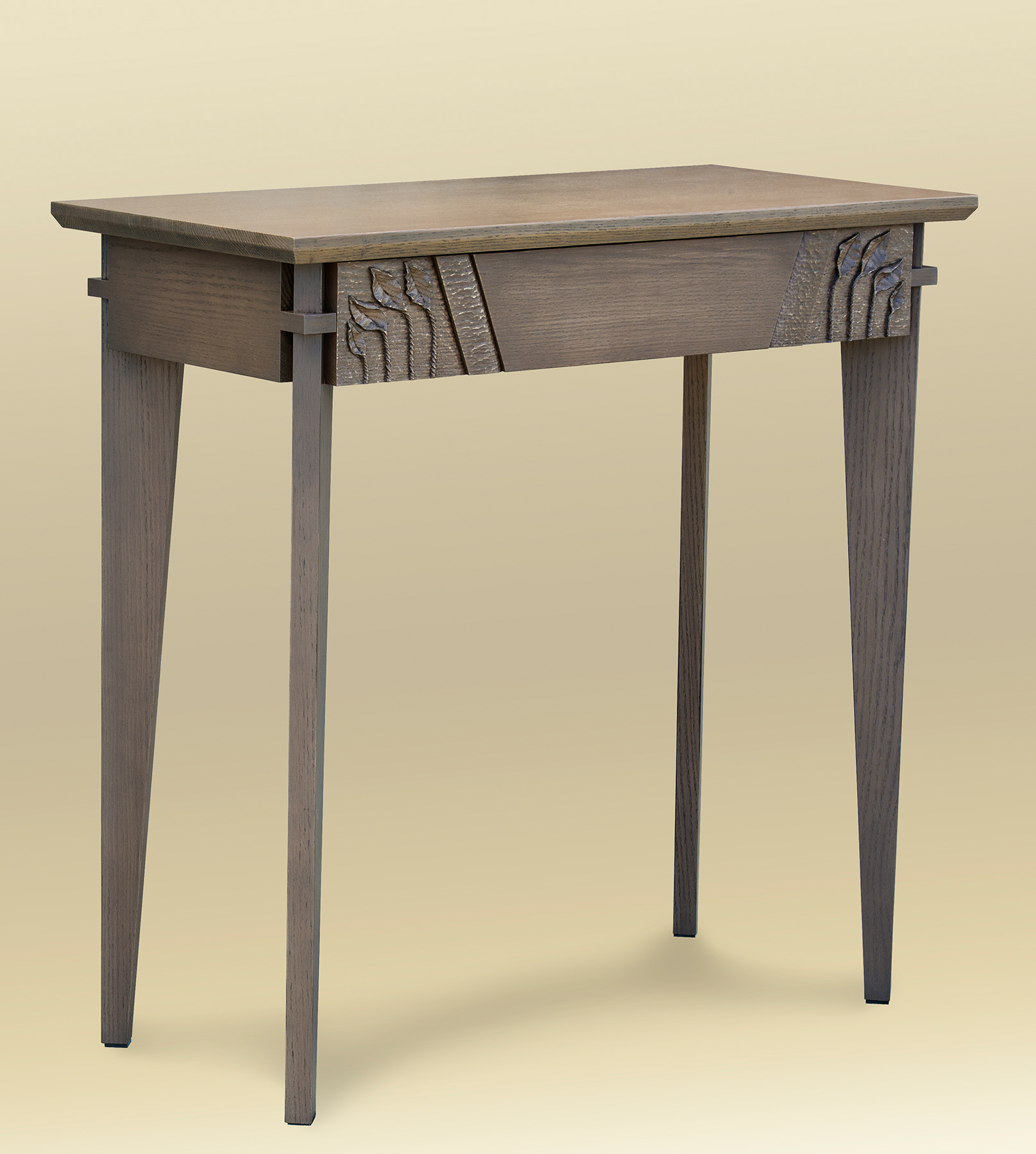 Aspen Leaf Console w/ Drawer