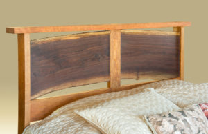 Live Edge River Bend Bed Headboard