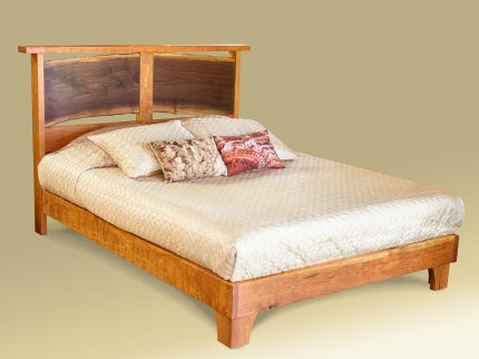 Live Edge River Bend Bed