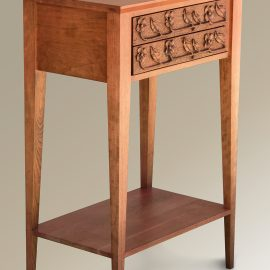 Dogwood Carved Console