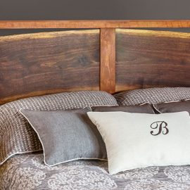 River Bed Live edge headboard