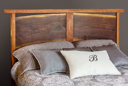River Bed Live edge headboard