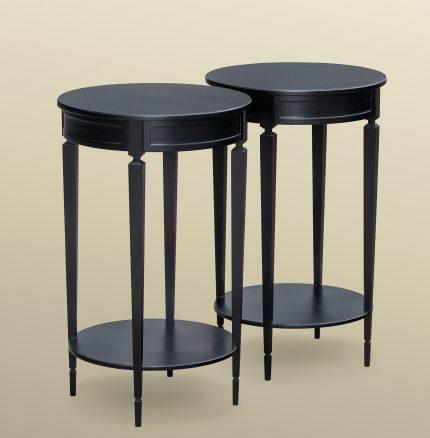 Drum Table Pair