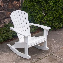 Polywood Seashell Rocking Chair