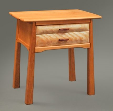 Two Drawer Cherry Side Table