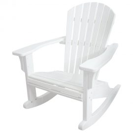 polywood-seashell rocker