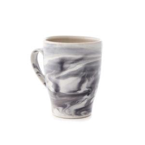 Marble Gray Stratus Mug