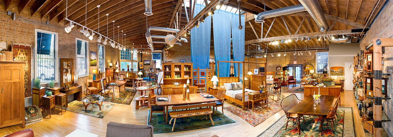 Sawbridge Studios Panorama Main Showroom