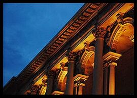 Art Institute of Chicago Columns
