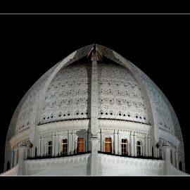 Baha'i House of Worship Dome
