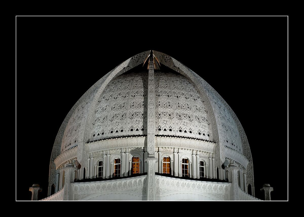 Baha'i House of Worship Dome