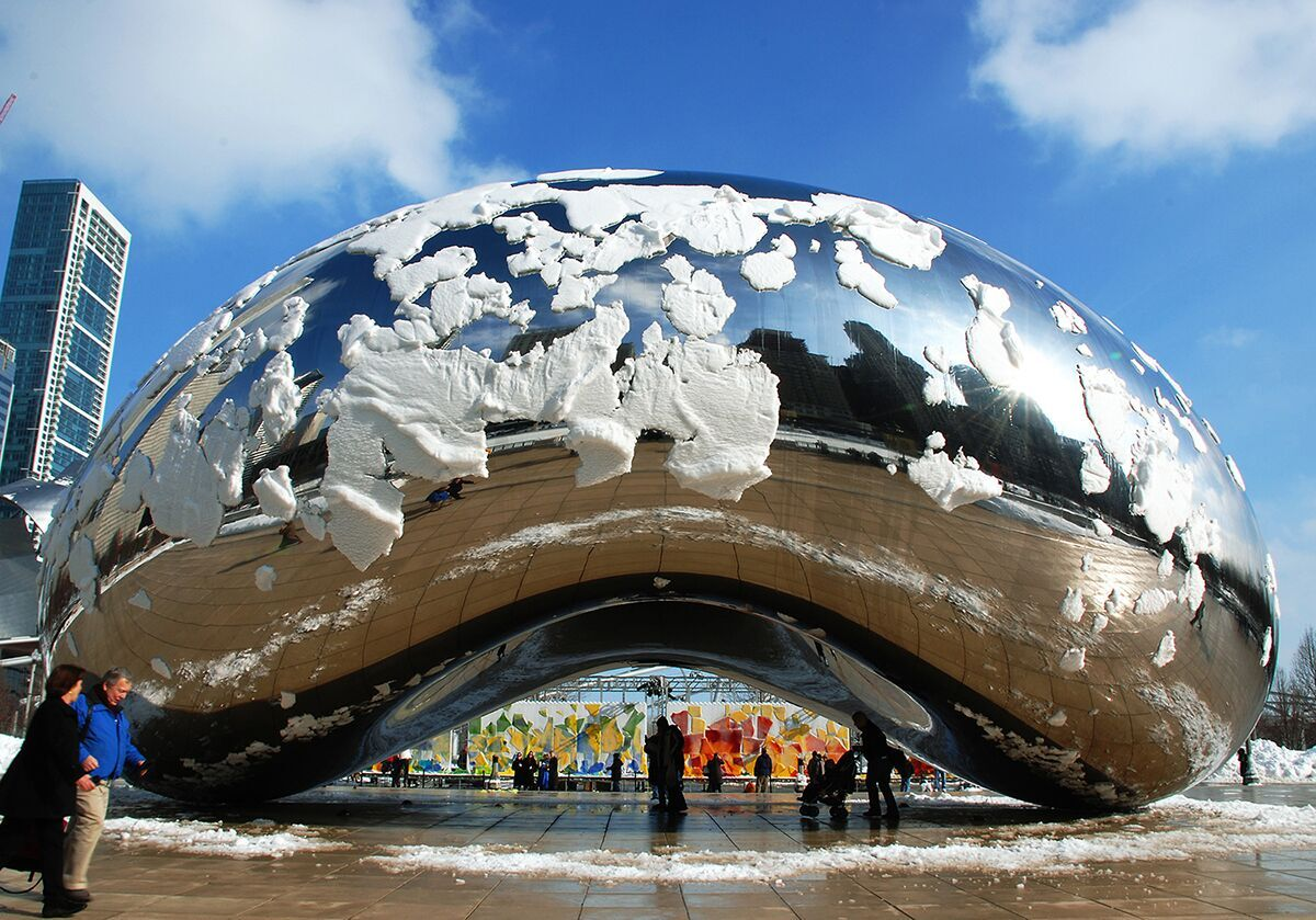 Cloud Gate Symmetry