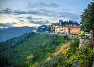 Montecatini Alto View - Italy