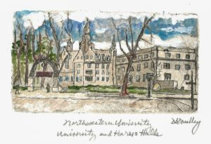 Northwestern University at Harris Hall