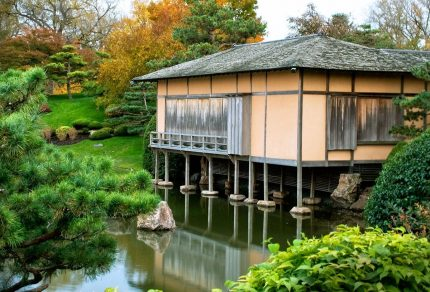 Shoin House at the Botanic Gardens