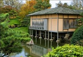 Shoin House at the Botanic Gardens