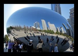 The Solider Cloud Gate