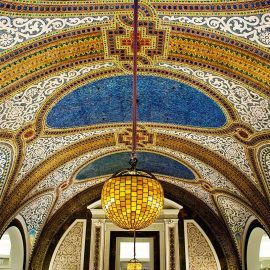 Tiffany Mosaic Dome