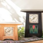 4x4 Tile and Square Face Mantle Clocks