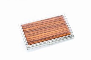Business Card Case - Cocobolo Rosewood