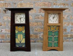 Craftsman Tile Clock