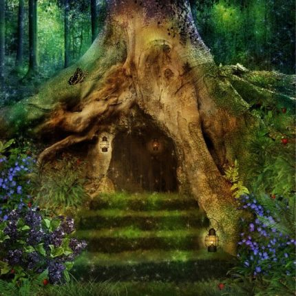 Enchanted Forest Wooden Jigsaw Puzzle