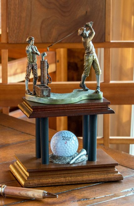 Final Drive Sculpture - Hole in One Award