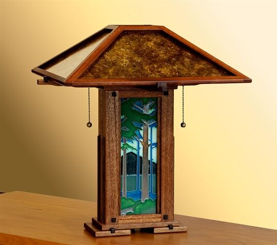 Greene & Greene Style Table Lamp