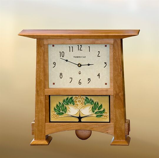 Horizontal Tile Clock