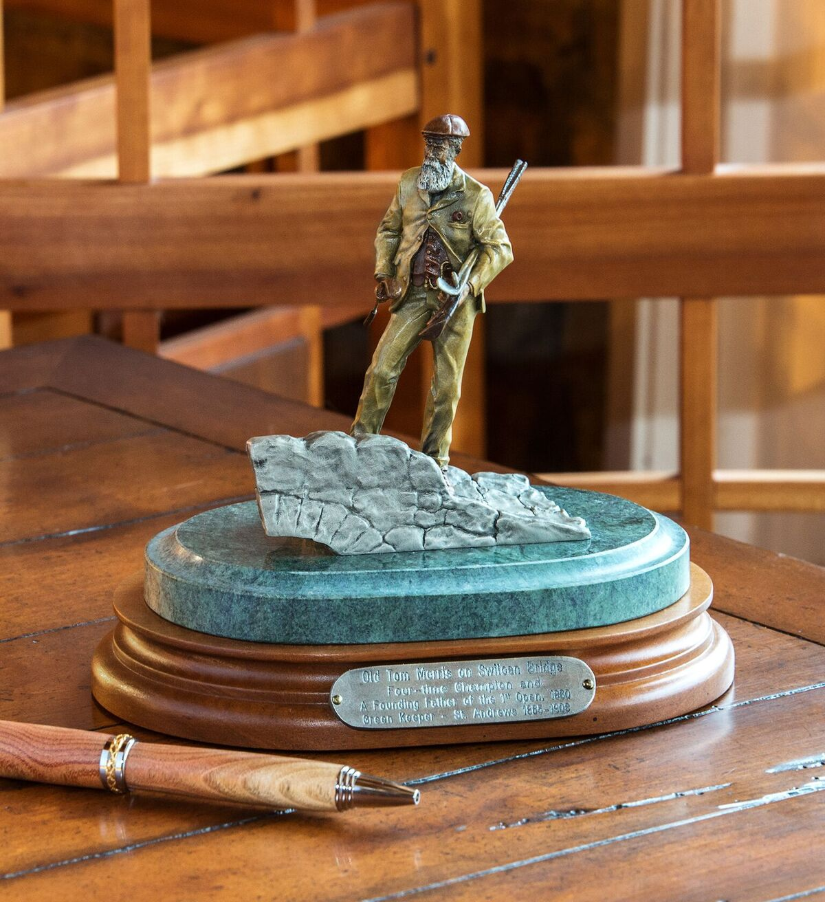 Keeper of the Greens Mini Sculpture