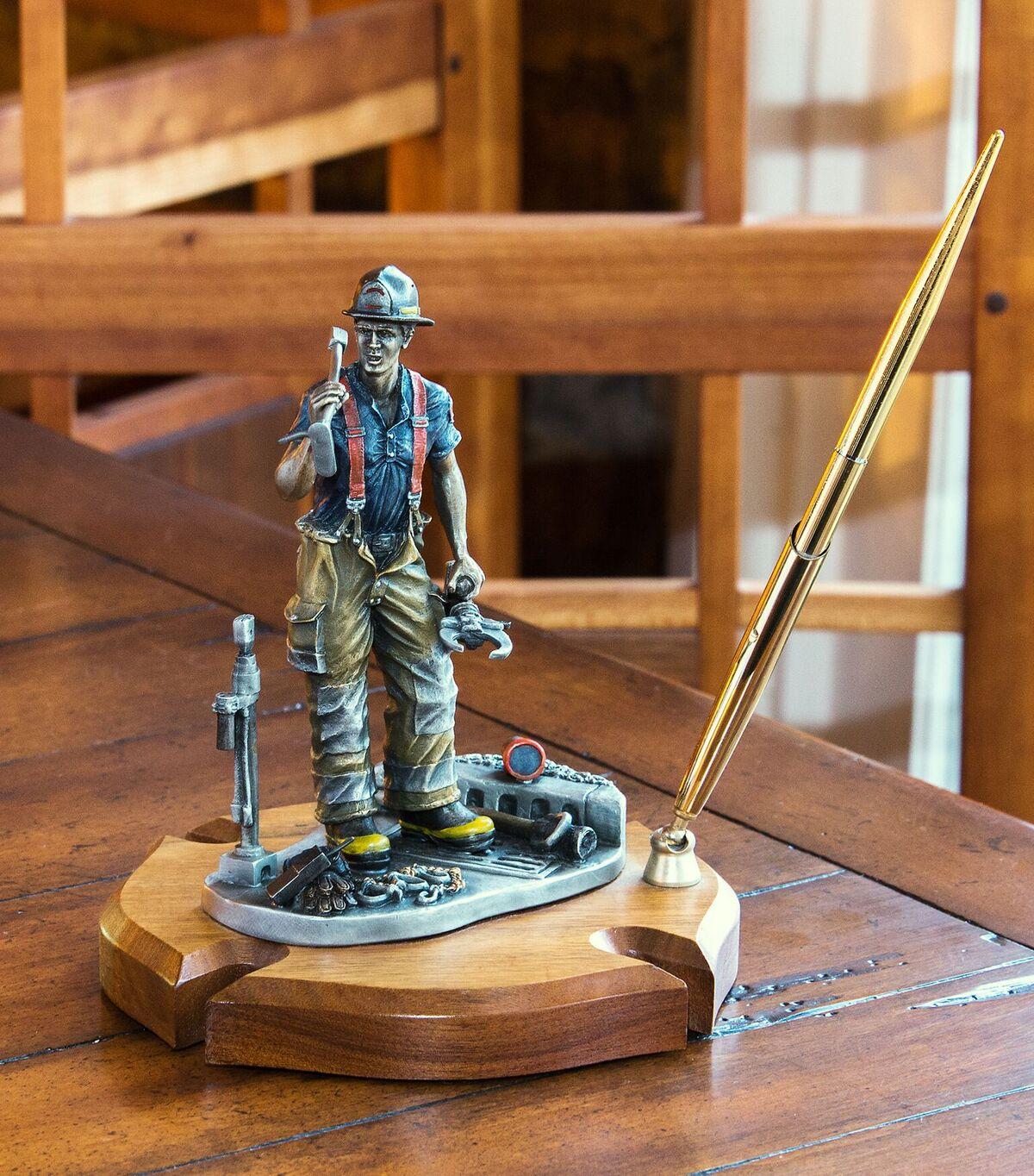 Maltese Cross Fireman Pen Set