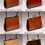 Myrica Wood Handbag options