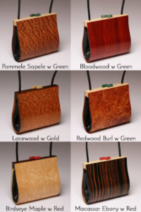 Myrica Wood Handbag options
