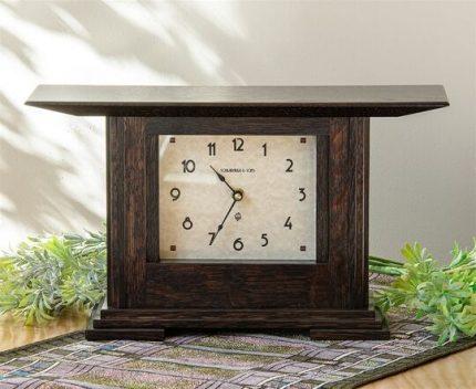 Prairie Style Mantle Clock