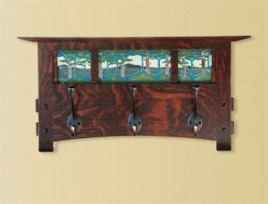 Sclabaugh & Motawi Coat Rack