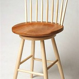 Sculpted Seat Bar Stool