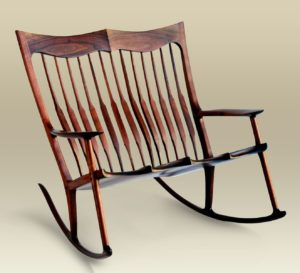 Walnut Anniversary Rocker