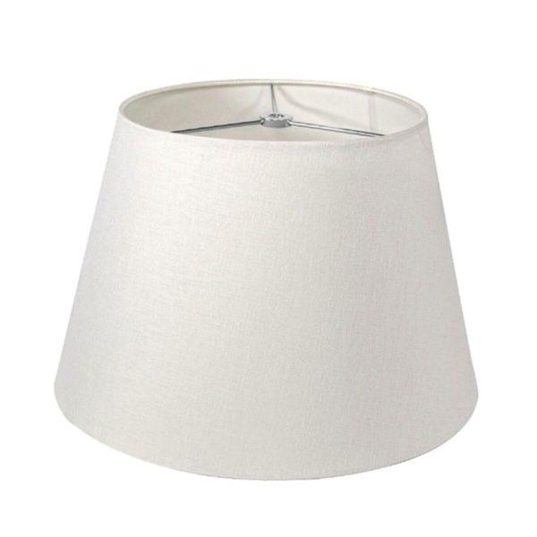 Linen Pembroke Shade - White