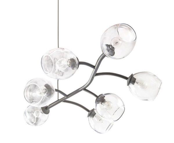 Simon Pearce Vine Chandelier