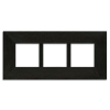 Motawi 4x4_Triple_OakPark_Frame_Ebony_Hor 2in