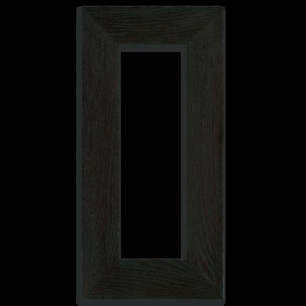 4x12 Oak Park Frame - Ebony