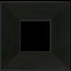 4x4 Single Oak Park Frame - Ebony