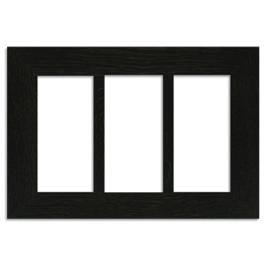 4x8 Triple Oak Park Frame - Ebony