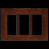 4x8 Triple Oak Park Frame - Oak