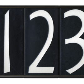 5 Tile House Number Frame