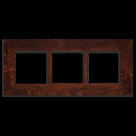 6x6 Triple Oak Park Frame - Oak