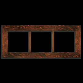 8x8 Triple Oak Park Frame - Oak