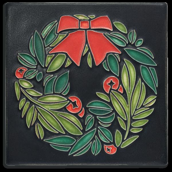 Black Wreath Tile
