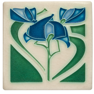 Blue Freesia Tile